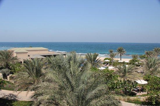 Anantara Desert Islands Resort & Spa: View from balcony