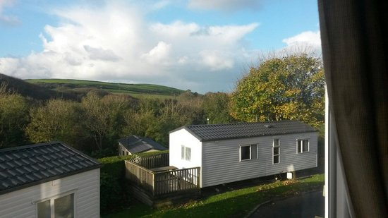 Golden Coast Holiday Village: View from number 43 Cleavewood.