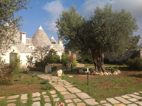 Trulli Paparale: View of the Paparale