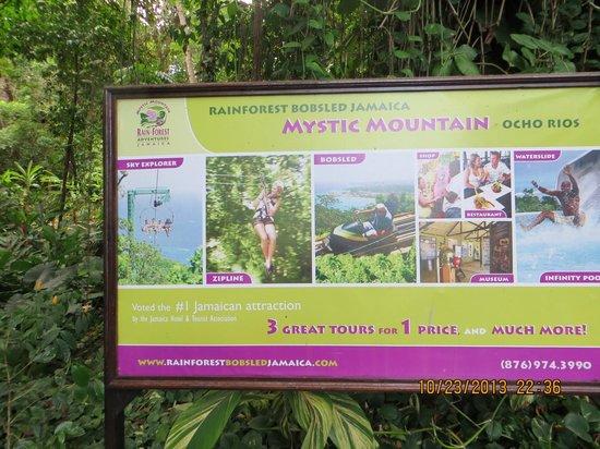 Rainforest Adventures: where we were