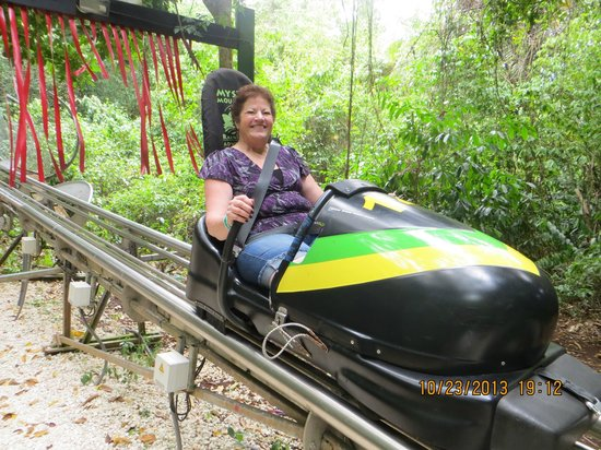 Rainforest Adventures: The bobsled