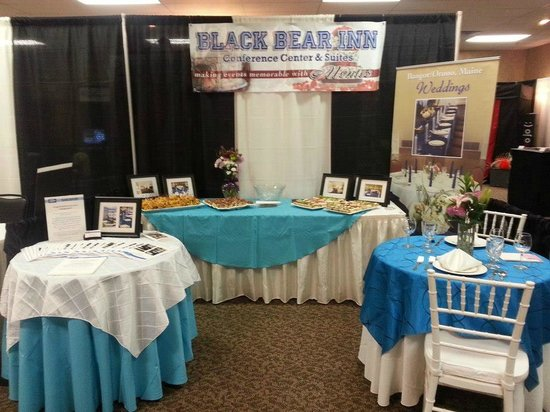 Black Bear Inn and Conference Center: Wedding Show booth