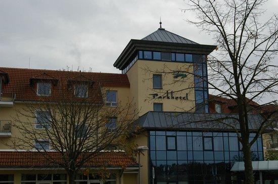 Parkhotel Weiskirchen : Das Hotel - front