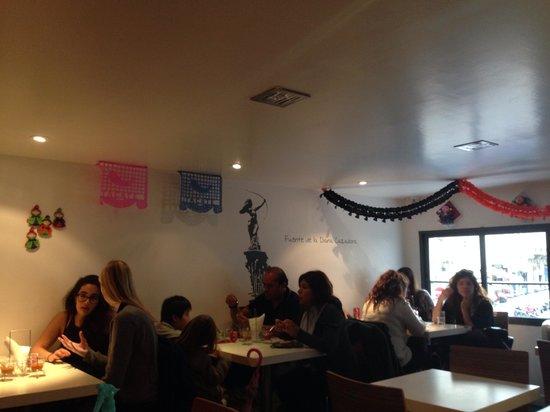 Restaurant Itacate: Interior restaurante