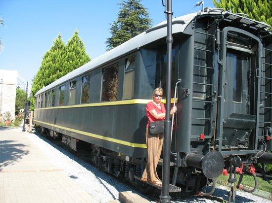 Attaturks private carriage - Picture of Camlik Locomotive ...