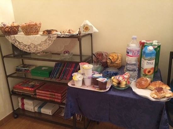 B&B Tucci's house Roma: breakfast offer