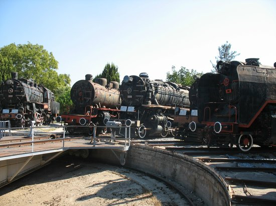Locomotives on the turntable - Picture of Camlik ...