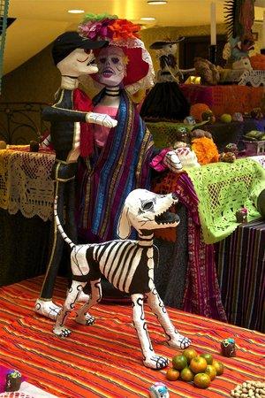 Gran Hotel Ciudad de Mexico: DIA DE MUERTOS ( LOBBY )