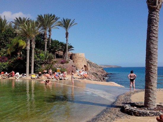 "R2 Rio Calma Hotel & Spa & Conference: Blick von der ""Lagune"" Richtung Strand"