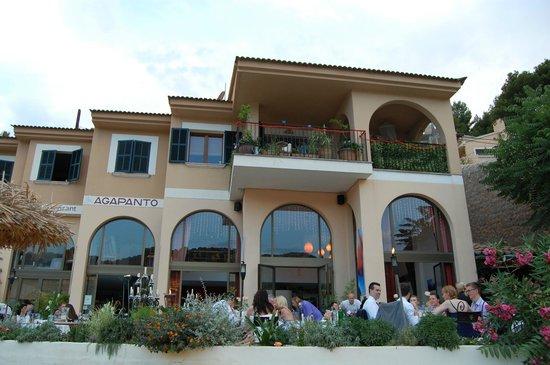 Bar and Restaurant Agapanto: Blick auf das Restaurant