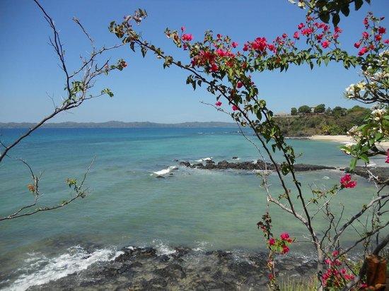 Andilana Beach Resort: vista dal ristorante pily pily