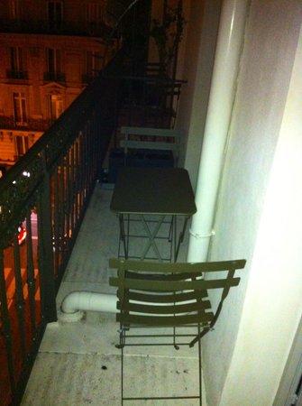 Le Grey Hotel : La terrasse