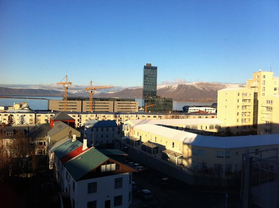 Hotel Klettur: View from the window