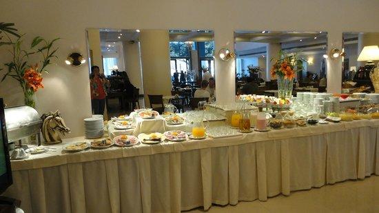 Scala Hotel: O café da manhã