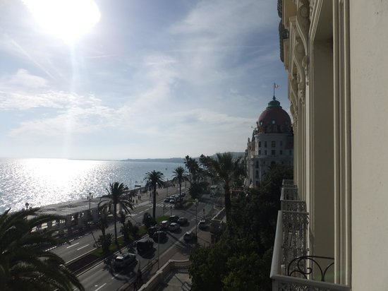 Hotel West End: Right - amazing view