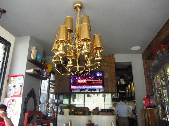 Hypnos Design Hotel: hotel restaurant