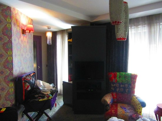 Hypnos Design Hotel: gypsy room interior
