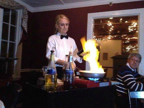 1785 Inn: Banana Flambe