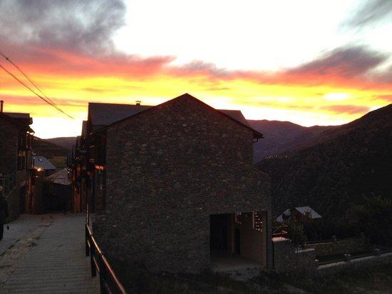 Casa Macia : Vista del pueblo Roní