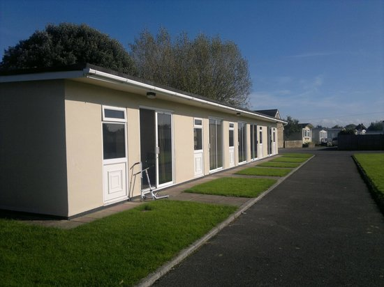 Burnham-On-Sea, UK: Budget chalets