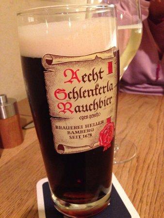 Restaurant Eckerts: Smoked Beer