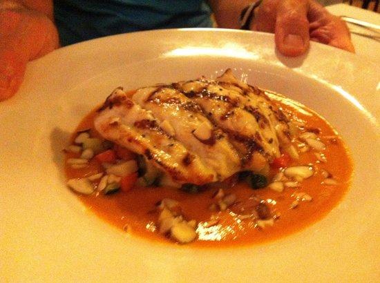 Vergina on Fifth Avenue : Grouper was delicious!