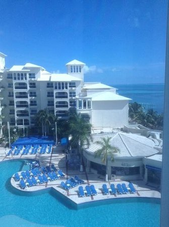 Occidental Costa Cancun : the view from 660