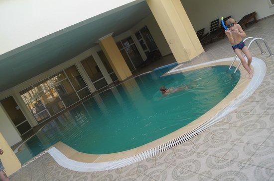 Eden Star Zarzis : piscine intérieure eau de mer