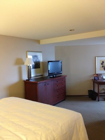 Hyatt Regency San Francisco: bedroom