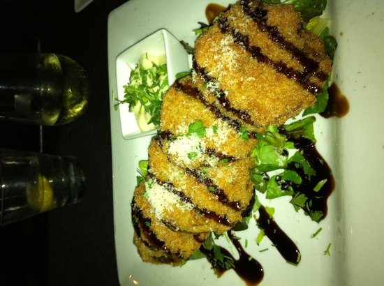The Plaza Bistro: Fried Green Tomatoes. YUMMY!