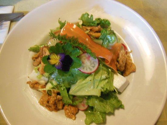 Gompm Alm: Leckerer Salat