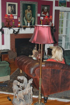 Juniper Hill Bed & Breakfast : Relaxing at the end of the day