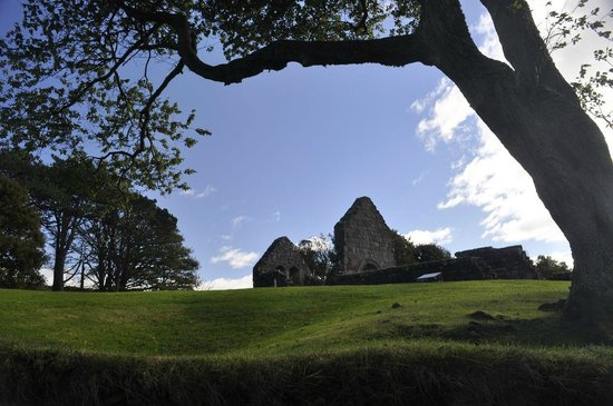 St Blane's Chapel : View from walk