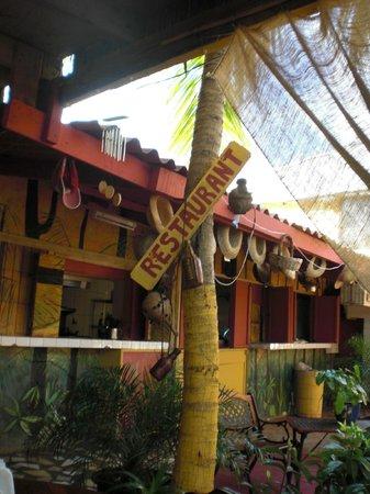 Rancho El Sobrino Curacao: Blick vom Reataurant