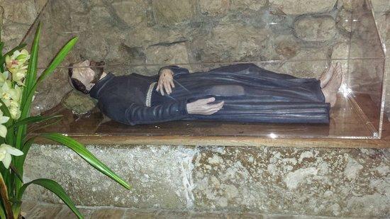 Santuario di Rivotorto: Dove si riposava Francesco