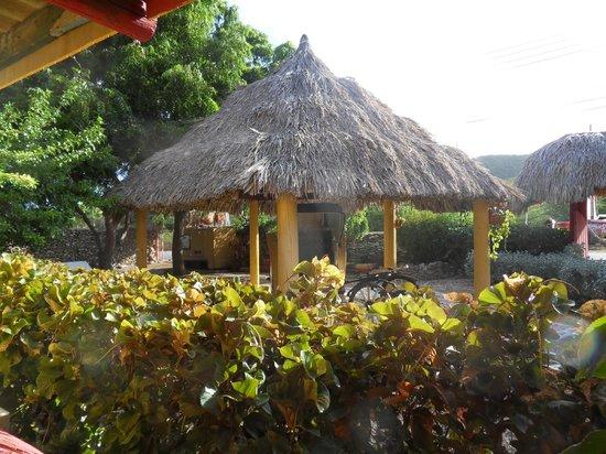 Rancho El Sobrino Curacao: Blick von Appatement 5