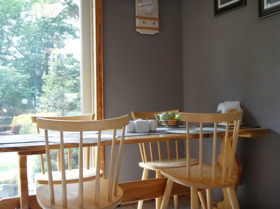 Sugarbush Guest House: Breakfast room
