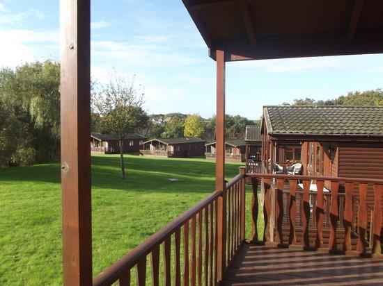Gurnard Pines: View from veranda