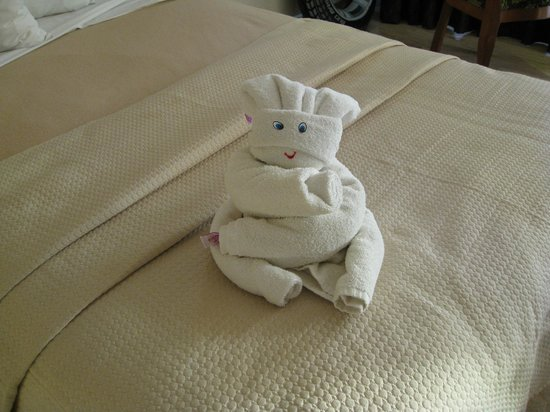 Golden Parnassus All Inclusive Resort & Spa Cancun : Fun towel animals everyday