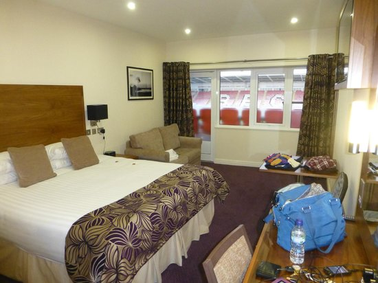 Blackpool FC Hotel: bedroom