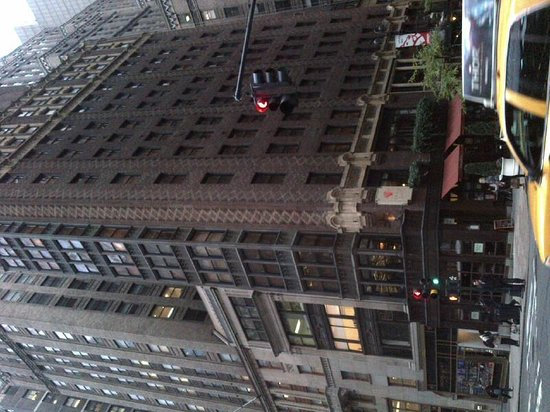 Library Hotel by Library Hotel Collection: View from Madison Avenue - hotel is brick built 14 storey building on corner
