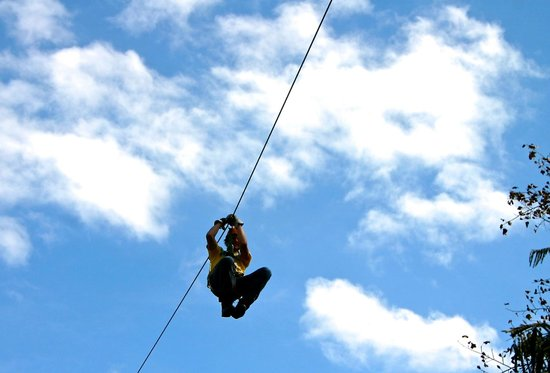 Pigeon River Canopy Tours : High in the sky!!!