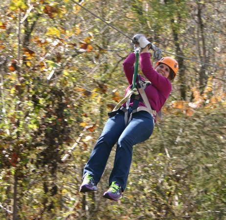 Pigeon River Canopy Tours : Total Fun!!!