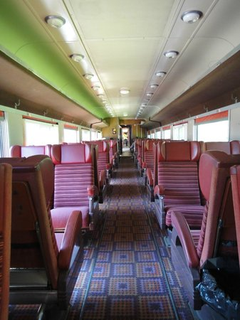 Waterloo Central Railway: One of the coaches
