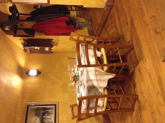 Le Boeuf Marin : Une table