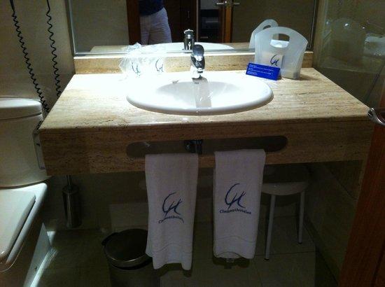 Clement Barajas Hotel: baño