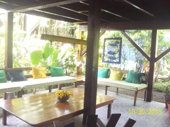 Cabinas Coconut Grove: The entrance area
