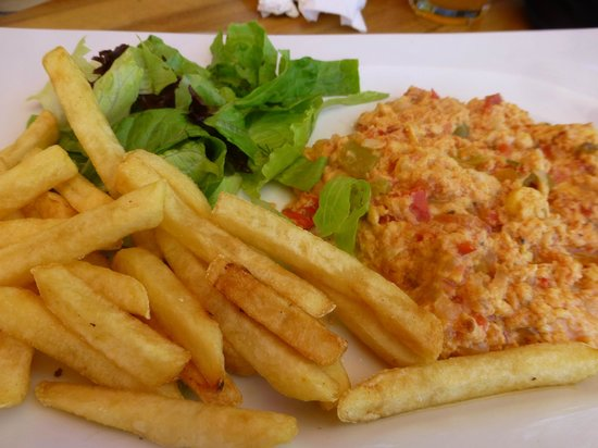 Coco Beach Restaurant : Turkish omelete