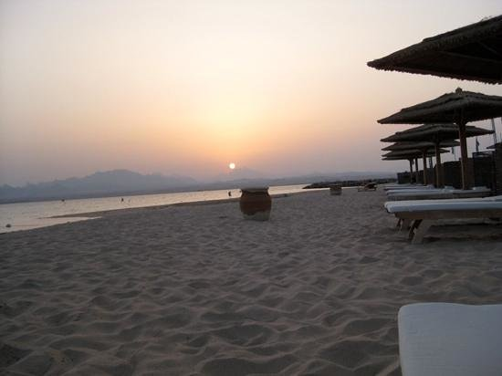 Kempinski Hotel Soma Bay: il tramonto