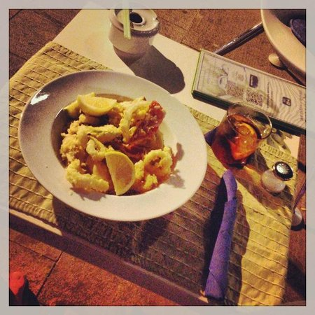 Kactus Café: the best fritto misto ever